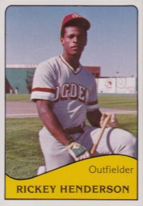1979 TCMA Minor League Rickey Henderson #808