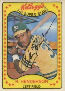 Top 10 Rickey Henderson Baseball Cards 6