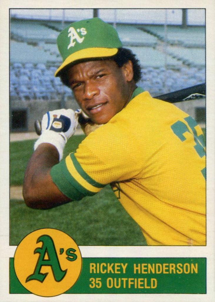 Top 10 Rickey Henderson Baseball Cards 5