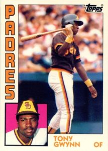 Top 10 Tony Gwynn Baseball Cards 5