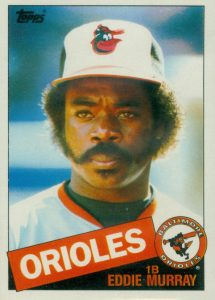 1985 Topps Mini Eddie Murray #700