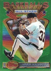 Top 10 Greg Maddux Baseball Cards 6