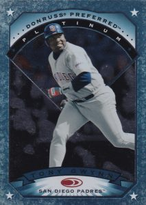 1997 Donruss Preferred Precious Metals Platinum Tony Gwynn #46