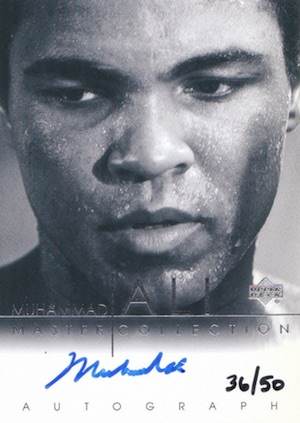 2000 Upper Deck Muhammad Ali Master Collection Autograph