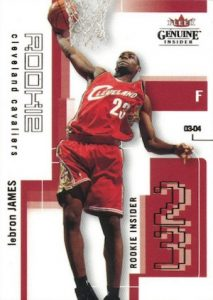 Don't Overlook These LeBron James Rookie Cards 7