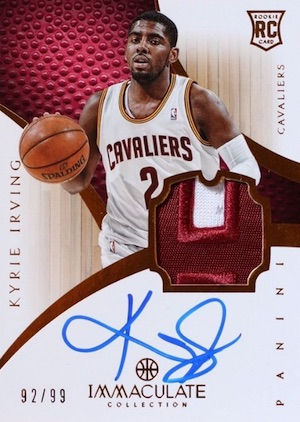 Kyrie Irving Rookie Cards Checklist and Guide 11