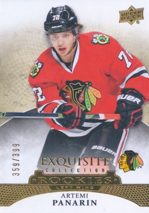 Artemi Panarin Rookie Card Checklist and Gallery - NHL Rookie of the Year 3