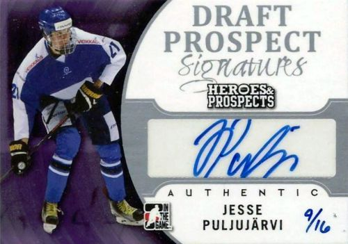 2015-16 Leaf ITG Heroes & Prospects Hockey Cards 31