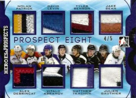 2015-16 Leaf ITG Heroes & Prospects Hockey Prospects 8