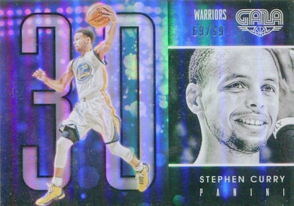 2015-16 Panini Gala Basketball Base Stephen Curry