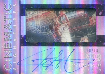 2015-16 Panini Gala Basketball Cinematic Signatures Stackhouse