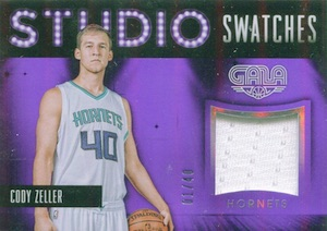 2015-16 Panini Gala Basketball Studio Swatches