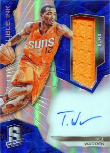 2015-16 Panini Spectra Basketball Indelible Ink Materials TJ Warren