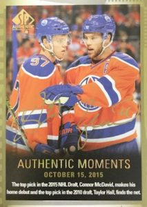 2015-16 SP Authentic Hockey Cards 30