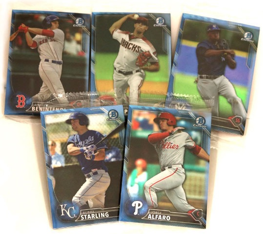 2016 Bowman Baseball Cards 3