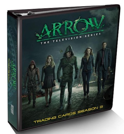 2017 Cryptozoic Arrow Season 3 Album Binder