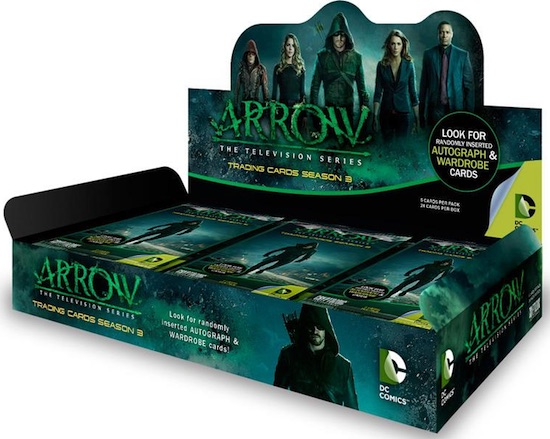 2017 Cryptozoic Arrow Season 3 box