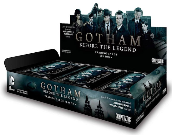 2016 Cryptozoic Gotham Season 1 box