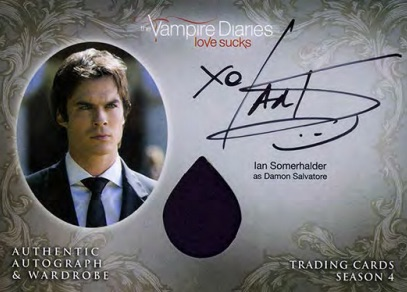 2016 Cryptozoic Vampire Diaries Season 4 Trading Cards 33
