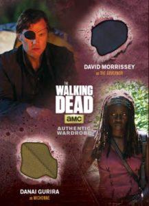 2016 Cryptozoic Walking Dead Season 4 Part 1 Dual Memorabilia