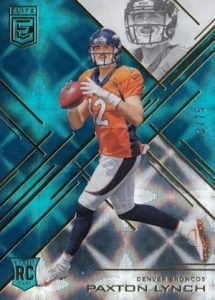 2016 Donruss Elite Football Base Teal Paxton Lynch