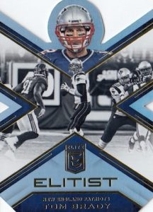 2016 Donruss Elite Football Elitist Tom Brady