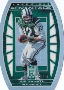 2016 Donruss Elite Football Home Field Advantage Namath
