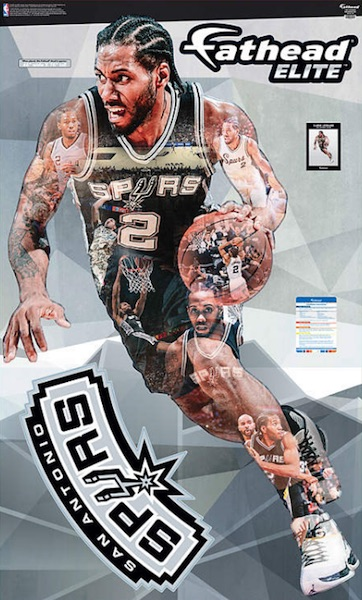2016 Fathead Elite NBA Wall Decals Kawhi Leonard