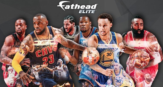 2016 Fathead Elite NBA Wall Decals 1