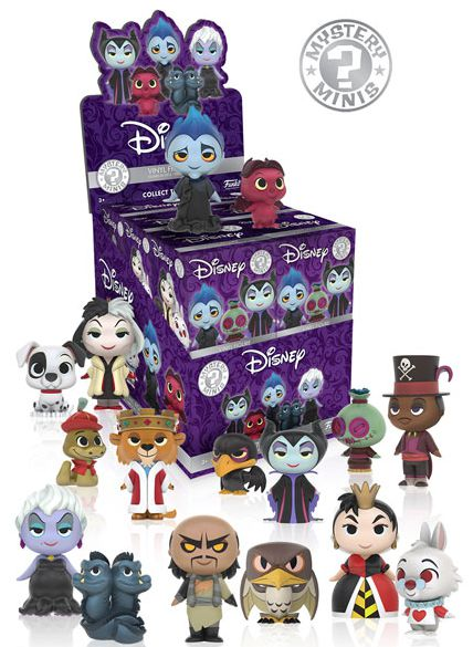 2016 Funko Disney Villains Mystery Minis Box