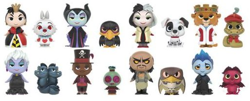 1 Blind Box Funko Mystery Minis Disney Villains Vinyl Figure