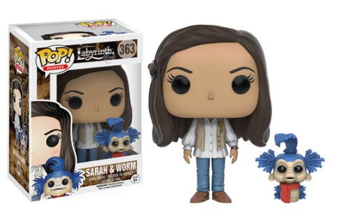 2016 Funko Pop Labyrinth 363 Sarah and Worm