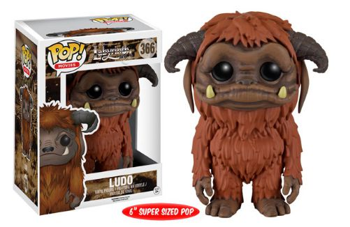 2016 Funko Pop Labyrinth 366 Ludo