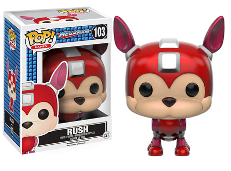 2016 Funko Pop Mega Man 103 Rush
