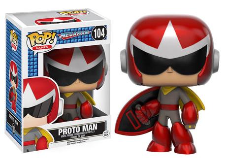 2016 Funko Pop Mega Man 104 Proto Man