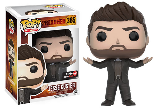 2016 Funko Pop Preacher GameStop Exclusive 365 Jesse Custer