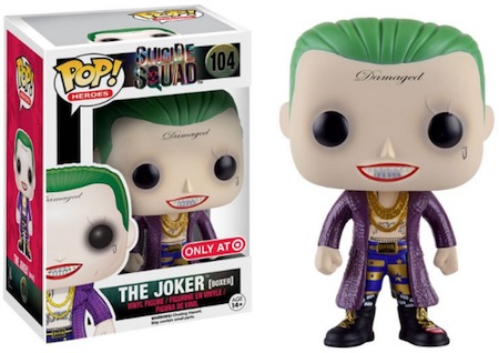 2016 Funko Pop Suicide Squad Vinyl Figures 104 The Joker Boxer Target