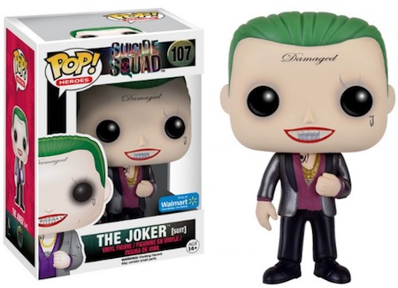 2016 Funko Pop Suicide Squad Vinyl Figures 107 The Joker Suit Walmart