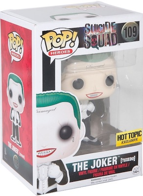 2016 Funko Pop Suicide Squad Vinyl Figures 109 The Joker Tuxedo Hot Topic