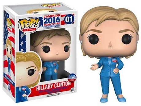 2016 Funko Pop Vote Campaign Hillary Clinton