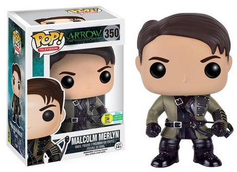2016 Funko San Diego Comic-Con Exclusives Pop Arrow #350 Malcolm Merlyn