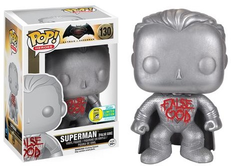 2016 Funko San Diego Comic-Con Exclusives Pop Batman v Superman #130 Superman False God