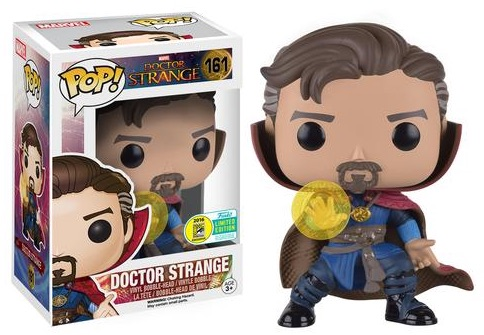 2016 Funko San Diego Comic-Con Exclusives Pop Doctor Strange #161 Doctor Strange with Rune