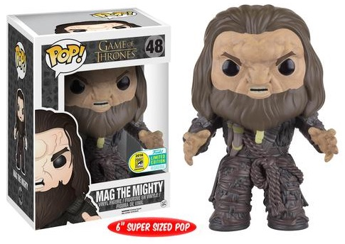 2016 Funko San Diego Comic-Con Exclusives Pop Game of Thrones #48 Mag the Mighty 6%22 Super Sized
