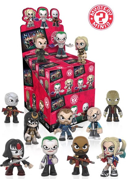 2016 Funko Suicide Squad Mystery Minis box