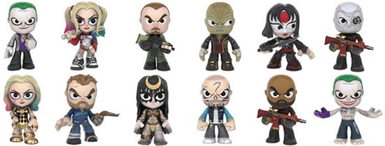 2016 Funko Suicide Squad Mystery Minis list
