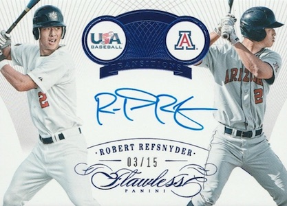 2016 Panini Flawless Baseball Transitions Autographs