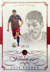 2016 Panini Flawless Soccer Cards 19