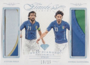 2016 Panini Flawless Soccer Cards 23