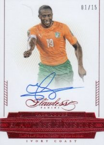 2016 Panini Flawless Soccer Cards 24